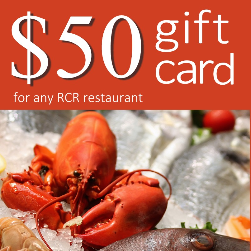 RCR Hospitality Group $50 Gift Card