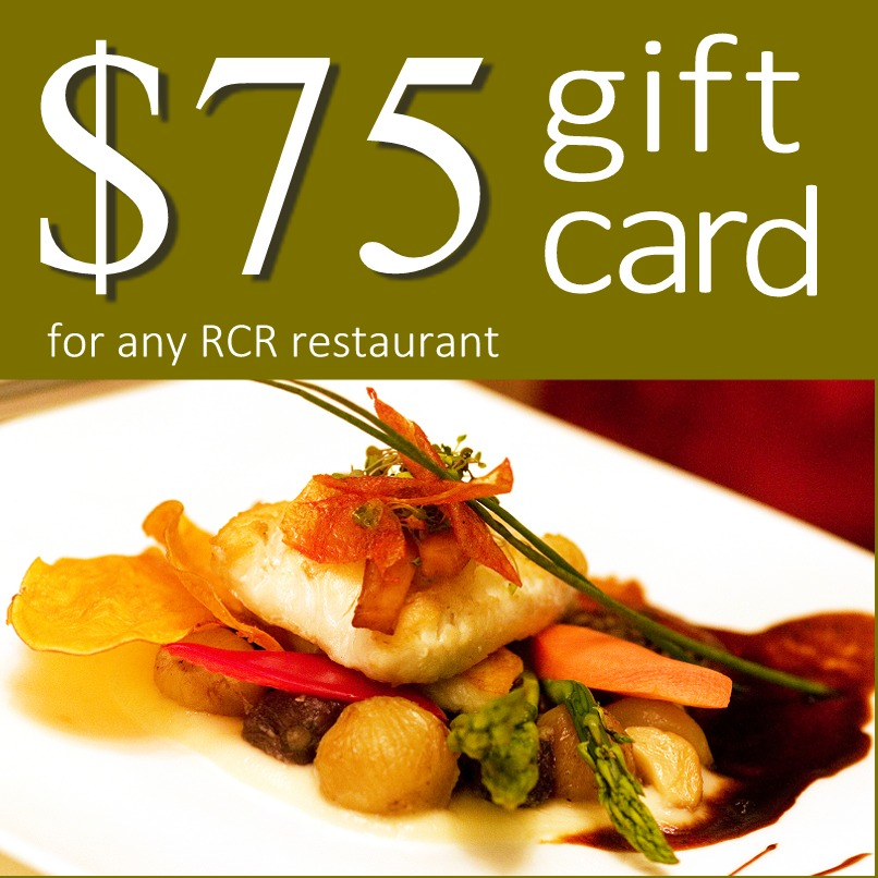 RCR Hospitality Group $75 Gift Card